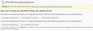 WordPress Version 2.8.3 ist verfügbar