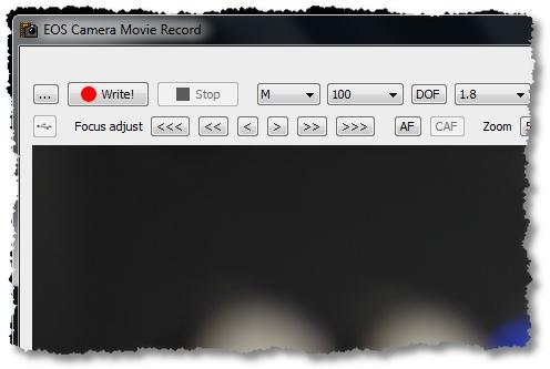 Canon 40D Video aufzeichnen
