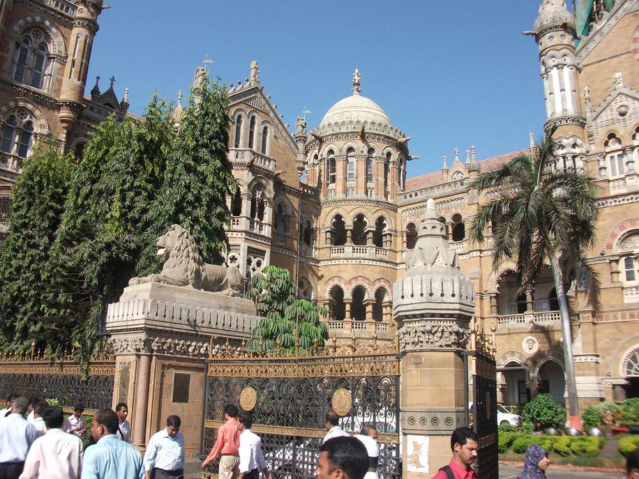 Trainstation Mumbai