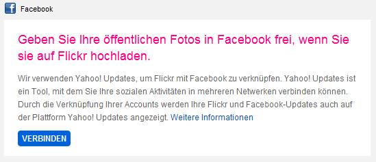 Flickr-Facebook