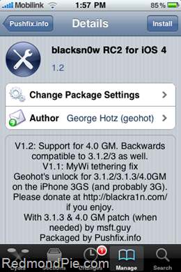 Blacksn0w RC2 Unlock