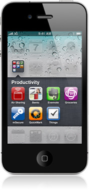 iOS 4.0 Ordner