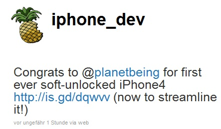 iphone4 soft unlock