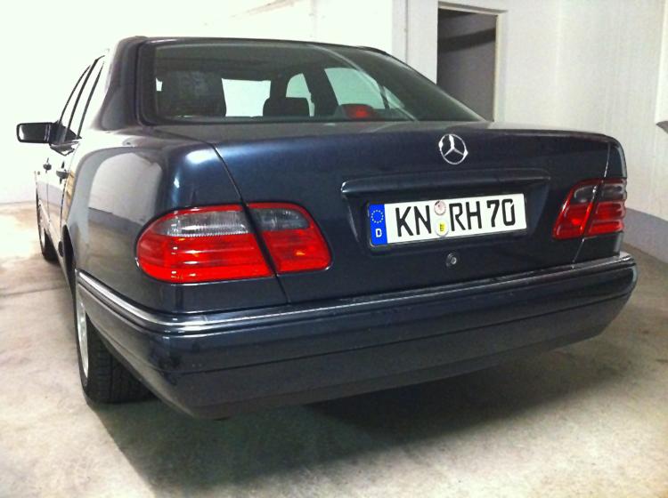 W210 Rückleuchten Facelift
