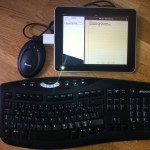Wireless Tastatur ans iPad anschließen mit iOS 4.3.3